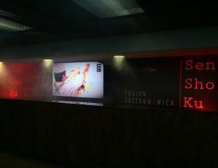 Pantalla Samsung 85″ para Senshoku