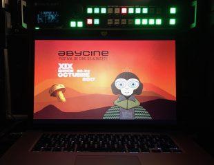 Equipos audiovisuales para Abycine 2017