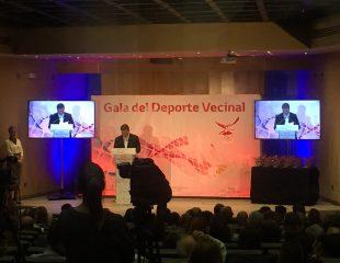 Audiovisuales para Gala del Deporte Vecinal